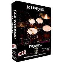 Samples Joe Barresi Evil Drums P/ Bfd, Bfd2, Bfd3 Com Box
