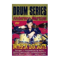 Video Aula Bateria Iniciante Drum Series - Anderson Martins