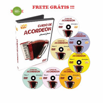 Curso Dvd Video Aula Acordeon Maxwell Bueno Kit 07 Cursos