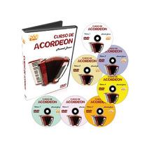 Curso Dvd Video Aula Acordeon Maxwell Bueno Kit 07 Cursos