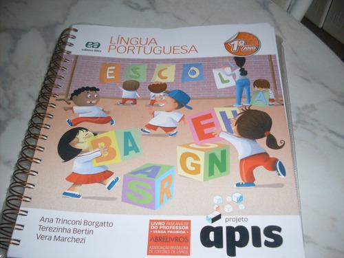 Projeto Ápis Língua Portugues 1º Ano- Livro Do Professor