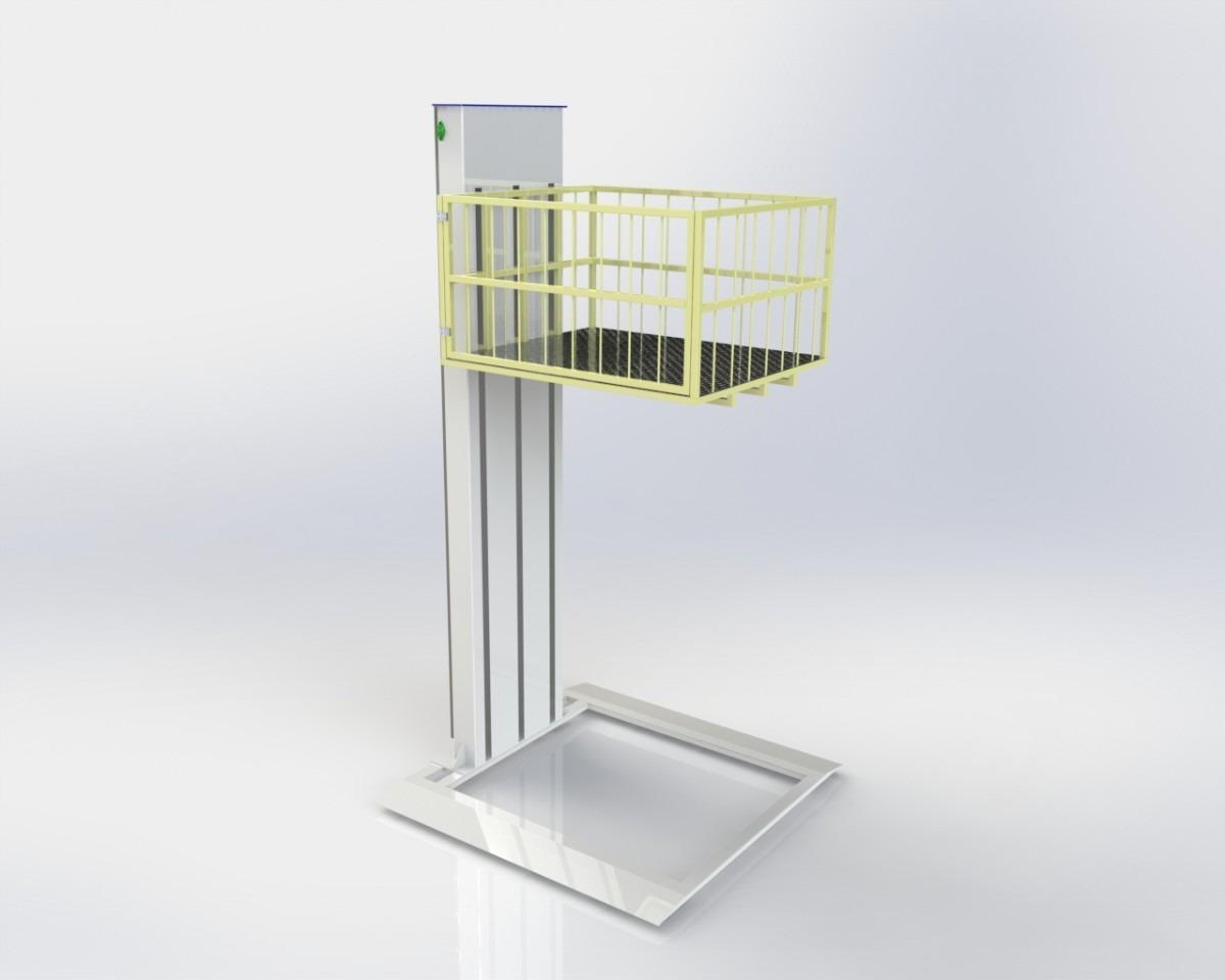 Projeto Elevador Cadeirante R$ 250 00 no MercadoLivre #878843 1200 960