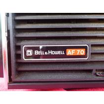 Projetor De Slides Antigo Bell & Howell Af 70 (colecionador)
