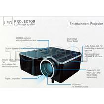 Mini Projetor Uc 28+ Com Hdmi, Vga, Av, Usb, Sd - Envio 24h!