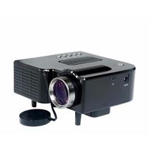 Mini Projetor Portátil Lcd Hdmi Usb Sd Vga Av+controle Uc28+