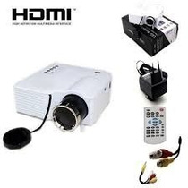 Mini Projetor Led Hd 1920x1080 400 Lumens Usb/sd/hdmi 120pol