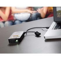 Mini Projetor De Bolso Philips Picopix Ppx2330-usb Quicklink