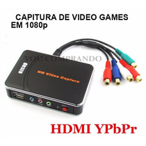 Placa De Capitura Ezcap Hd 1080p Hdmi Ypbpr Xbox One/360 Ps3
