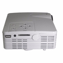 Mini Projetor Led Hd 1920x1080 400 Lumens Usb/sd/hdmi 100pol
