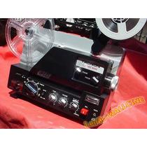 Sensacional Projetor Sonoro Super-8 8mm Tacnon Chinon Telão