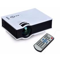 Mini Projetor Led Uc40 Portatil Hdmi 1080p 130 Polegadas Usb