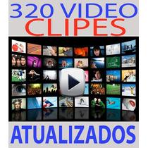 320 Clipes Hd Atualizados Varios Ritmos Dj Telão+ Download