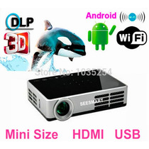 Datashow 3d 5500 Lm Projetor Full Hd 50.000 Horas E Android