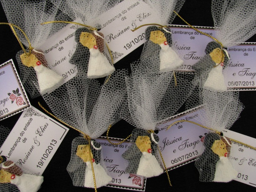Promoção!! 200 Noivinhos - Lembrancinhas De Casamento C/ Imã