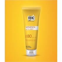 Roc Minesol Actif Unify Fps80 Gel-creme Oil Free