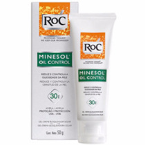 Protetor Solar Roc Minesol Oil Control Fps 30 Contém 50g