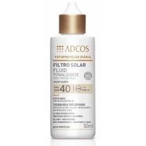 Filtro Solar - Loção Fluida Peach Fps 40 Adcos