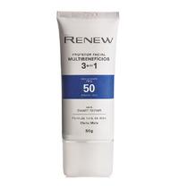 Renew Protetor Facial Multibenefícios 3 Em 1 Fps 50-parcele