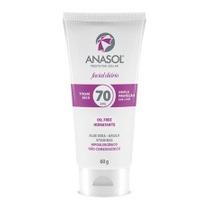 Anasol Protetor Solar Facial Fps70 Toque Seco 60g