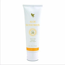 Protetor Solar Aloe Sunscreen Forever Fator 30 Uva E Uvb