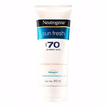 Protetor Solar Neutrogena Sun Fresh Fps 70 Corpo 200ml