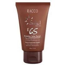 Protetor Solar Facial Fps 65 Racco - 60g