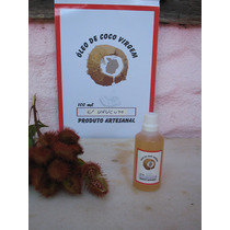 Oleo Bronzeador De Coco Virgem Com Urucum 1,0 Litro