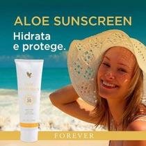 Protetor Solar Aloe Sunscreen - Forever - 118ml
