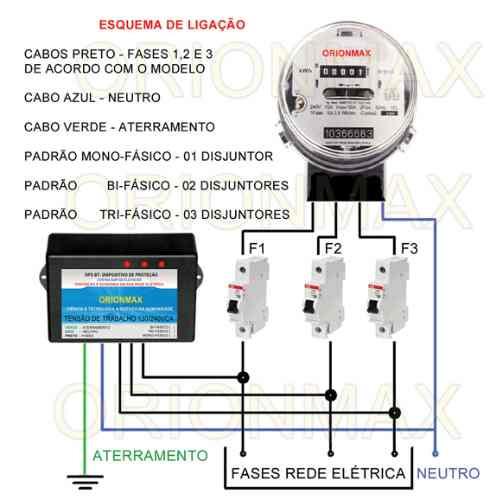 Protetor Contra Surtos Elétricos Economize Até 25% Energia
