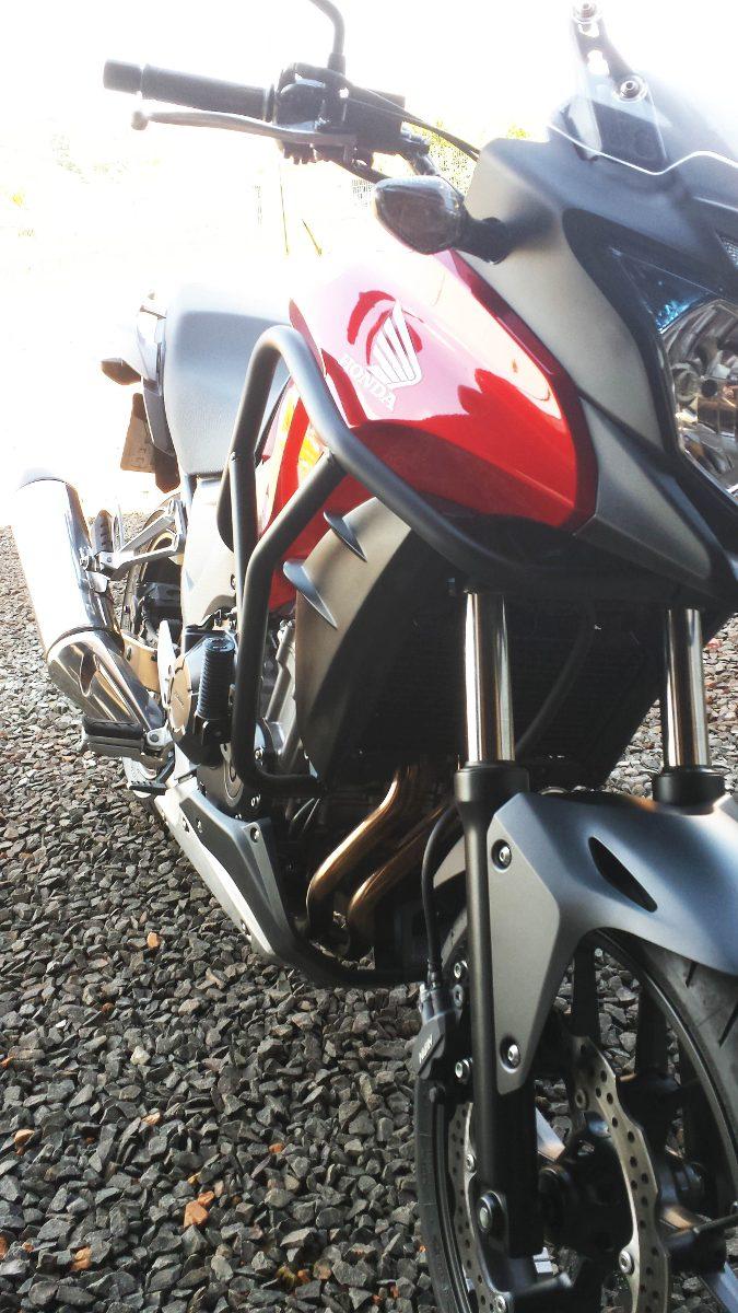 Protetor de Motor Livi Motorparts Protetor-motor-honda-cb-500x-184101-MLB20282795311_042015-F