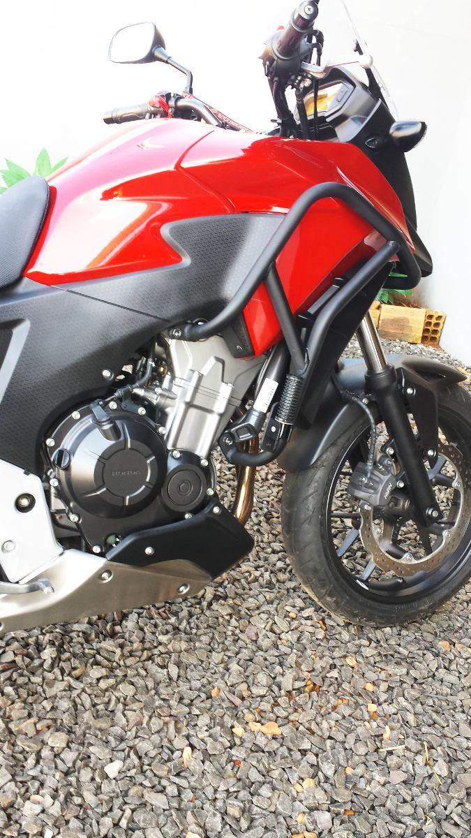 Protetor de Motor Livi Motorparts Protetor-motor-honda-cb-500x-951201-MLB20282795480_042015-F