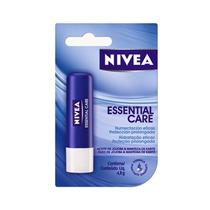 Prot Labial Lip Care Nivea Essential Care 4,8g