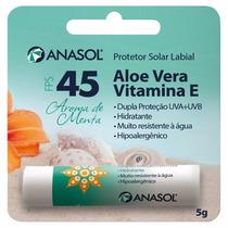 Anasol Protetor Solar Labial Fps 45 5g