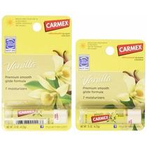 Carmex Lip Balm - Baunilha - Vanilla (made In Usa)