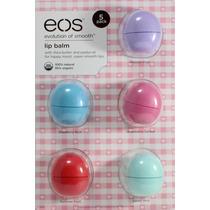 Eos Lip Balm Protetor Labial Kit Com 5 + Frete Gratis !!