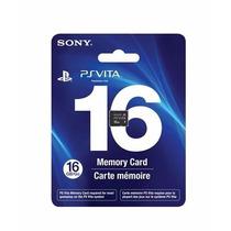 Cartão De Memória 16gb Psvita - Memory Card Psvita Ps Vita