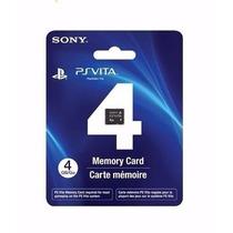 Cartão Memória 4 Gb Original Sony Ps Vita Psvita Memory Card