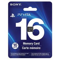 Novo Lacrado Cartão De Memória Sony 16 Gb Para Ps Vita