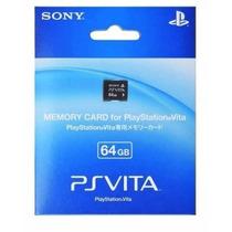 Cartão De Memória 64 Gb Memory Card Psvita Ps Vita Sony