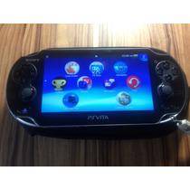 Ps Vita Com Cartão 4gb. Psvita Ed. Limitada Call Of Duty