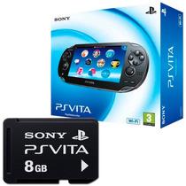 Ps Vita Psvita Wi-fi + Cartão De Memória 8gb Original Sony