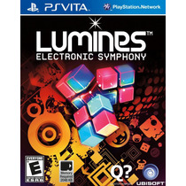 Jogo Seminovo Lumines: Electronic Symphony Original Ps Vita
