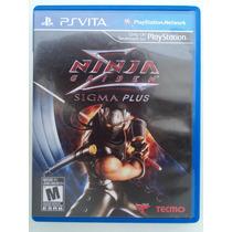 Ninja Gaiden Sigma Plus - Ps Vita Mídia Física Otimo Estado