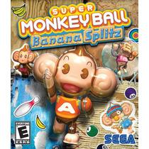 Jogo Novo Super Monkey Ball Banana Splitz P/ Ps Vita