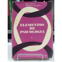 Livro - Elementos De Psicologia David Krech/ Richard C. Vol1