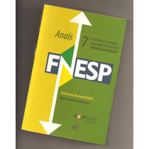 Livro Anais Do 7º Fórum Nacional De Educação - Semesp - Novo