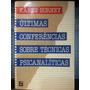 Livro: Horney - Últimas Conferências Técnicas Psicanalíticas