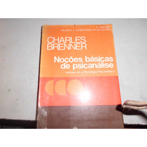 Livro Noções Básicas De Psicanálise