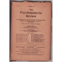 Psicanálise The Psychoanalytic Review 1943 Shakespeare Negro