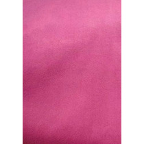Puff Baú Retangular 58x34x45cm Suede Rosa Pink
